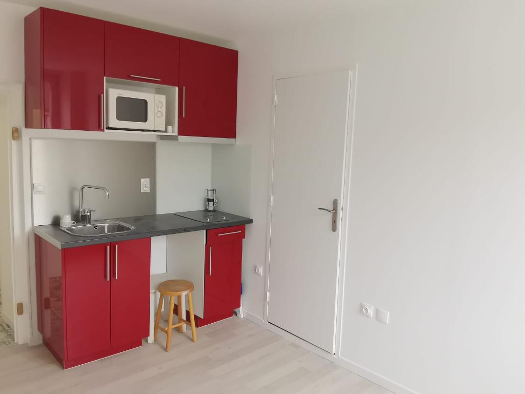 Appartement 1 pièce - 14m² - REIMS